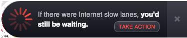 NetFlix Net Neutrality Button